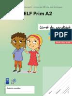Livret Du Candidat Delf Prim a2 Exemple 2(1)