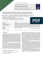 Fabrication of Photocatalytic Composite