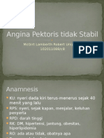 Unstable Angina Pektoris PPT