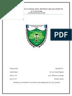 Socio Research Paper II