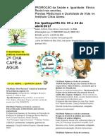 Rev 03 CONVITE Programacao 2º CHA AGUA E CAFE Saúde e Igualdade Racial 14-04-2017 2