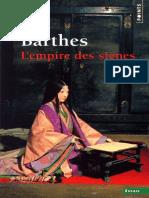 Barthes, Roland - L'empire des signes (2013, Le Seuil, 9782757841174,9782020827041).epub