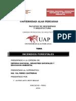 Caratula de la universidad alas peruanas