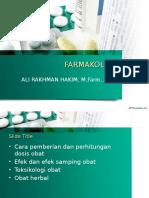 Farmakologi Biomedik
