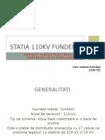 Pecs Proiect Fundeni- 110 kv=V