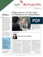 Rapport Mediateur 2010