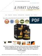 Me First Living Premium Standardized Turmeric Curcumin