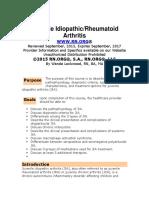 Juvenile IdiopathicRheumatoid