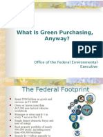 Green Procurement Presentation by Dana Arnold OFEE.ppt
