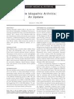 Juvenile Rheumatoid Arthritis Benefits