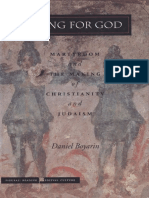 Dying for God - Martyrdom and the Making of Christianity and Judaism