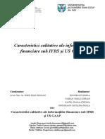 Caracteristici Calitative Ale Informatiilor Financiare Sub IFRS Si US GAAP Final