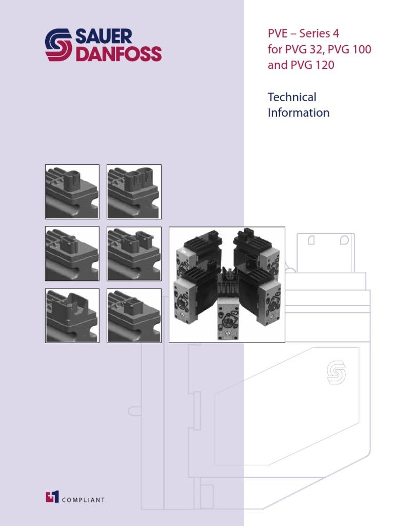 293433439-Sauer-Danfoss-PVE.pdf   Valve   Electrical Connector on