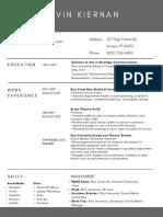 Resume (Website)