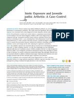 Antibiotic Exposure and Juvenile