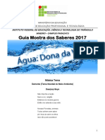 Mostra Dos Saberes 2017 Oficial