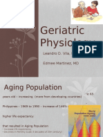 Geriatric Physiology by Dr. Leandro D. Vila and Dr. Edmee Y. Martinez