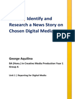 george aquilina - unit 1 reporting for digital media - ba media 1 group a - task 1