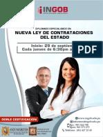 Brochure de Contrataciones Del Estado
