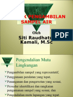 Teknik Pengambilan Sampel Air