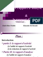 Rapport Danalyse Et Dactivité (1)