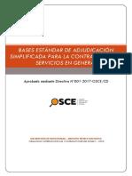 Bases de la contratación de la defensa de Alfredo Madueño