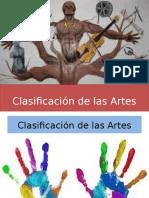 clasificacindelasartes1-131205191352-phpapp01