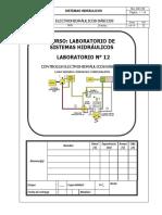 Lab 12 - Cktos Electrohidráulicos Básicos - 2016.2