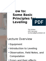 Levelling Introduction