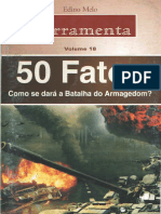 50 Fatos - Como Se Dará a Batalha Do Armagedom-Édino Melo - Ferramenta