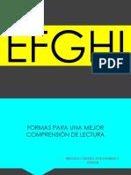 EFGHI-comprensión lectora