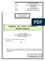 Complements Cours Analyse Reelle Un