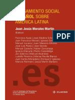 Pensamiento Social Español Sobre AmericaLatina