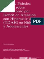 Guía Clínica TDAH