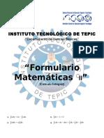 FORMULARIO_MATEMATICAS_II_ITTEPIC