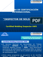 certificacion CWI