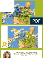 Como Mejorar La Salud de Niños y Mamás Lactantes con Plantas Medicinales