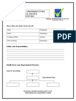 Performance Appraisal Form Best