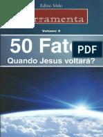 50 Fatos-Quando Jesus Voltará-Édino Melo -Ferramentas