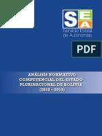 Analisis Normativo Competencial 2010 - 2013