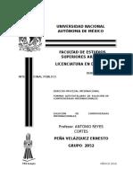 Tesina de Derecho Interncional Publico