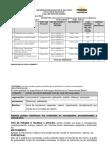 Tabla de Especificaciones Modulo 2