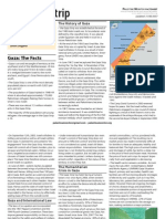 Fact Sheet Gaza