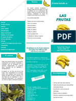 Tríptico Ariana - El Plátano