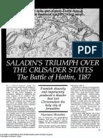 Saladin Triumph Hattin