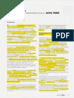 Periodizacion de la independencia de Bolivia- Soux M.