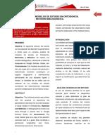Artículo Analisis de Modelos de Estudio Ortodoncia