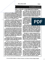 Article Cross Training Yields Continuity in DD Programs 1997