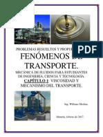 viscosidad y mecanismo del transporte