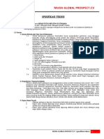 Spesifikasi Teknis Rkb Sdn 023